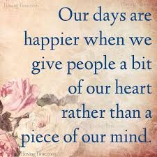 This is so true!  And how much happier are we?