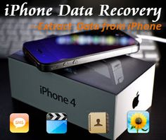 iPhone Data Recovery is all you need to recover lost data for iOS devices such as iPhone 5, iPad 4, iPod touch, etc. http://www.windowspasswordsrecovery.com/iphone-data-recovery/
