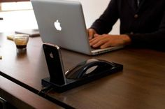 Moshi Moshi Curve - wireless handset and iPhone dock