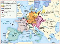 Map Readings in the Military History of the Thirty Years War European History, World History, French History, Thirty Years' War, Holy Roman Empire, North Sea, France, Historical Maps, Cartography