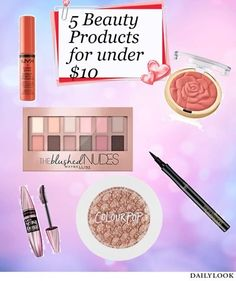Makeup Wars: 5 Beauty Products Under $10! Prime Beauty Blog: Makeup Wars: 5 Beauty Products Under $10! Prime Beauty Blog