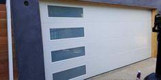 smooth flush panel garage doors by Garage doors 4 Less. Garage Door Panels, Garage Door Springs, Garage Door Spring Repair, Canoga Park, Garage Door Opener, Outdoor Decor, Smooth, Home Decor, Interior Design