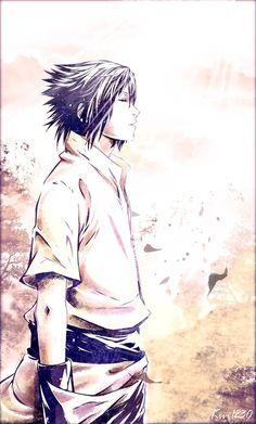 Sasuke in the wind