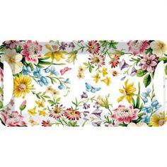 Creative Tops Katie Alice English Garden Melaminový tác 38 x 20 cm