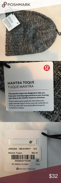 Lululemon winter hat. New with tags Brand new!!! with tags. lululemon athletica Accessories Hats