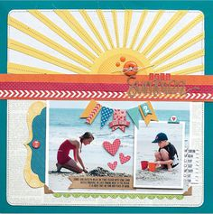 This Summer by Jen Gallacher - Scrapbook & Cards Today - Canada's scrapbooking magazine
