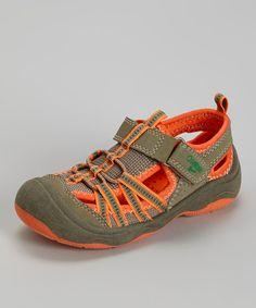 0c1caebf27d9 Love this Khaki   Orange Motion Sport Sandal - Toddler   Boys by OshKosh  B gosh on