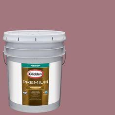 Glidden Premium 5-gal. #HDGR24D Dusty Brick Semi-Gloss Latex Exterior Paint