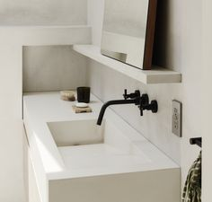 Bilderesultat for concrete bathroom
