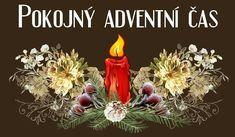 Přání, prezentace, šablony kalendářů a pozvánek Merry Christmas, Christmas Ornaments, Healthy Sweets, Advent, Santa, Czech Republic, Holiday Decor, Straws, Merry Little Christmas