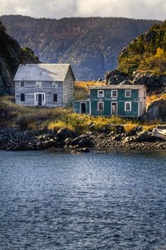 Round Harbour, Baie Verte Peninsula, Newfoundland and Labrador,. Old Buildings, Abandoned Buildings, Abandoned Places, Abandoned Castles, Haunted Places, Newfoundland Canada, Newfoundland And Labrador, O Canada, Canada Travel
