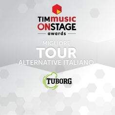 Ho appena votato LEVANTE ai TIMmusic Onstage Awards Awards, Alternative, Tours