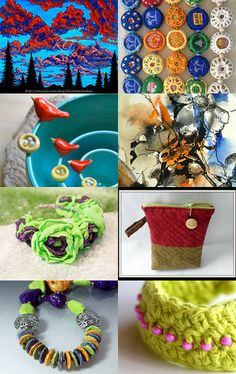 Colorful by OortCloudObjects on Etsy--Pinned with TreasuryPin.com