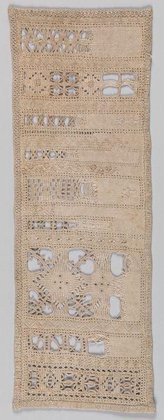 Sampler, early 20th century