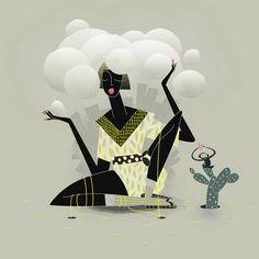 The Great Feminine Illustrations of Sara Ciprandi