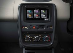 Renault Duster gets a new media NAV touch panel