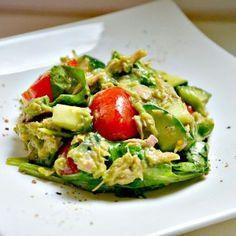 Thunfisch-Avocado Salat http://www.hartwiegranit.com