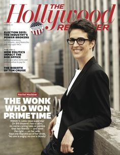 Rachel Maddow - one of the intelligent woman on TV - She & her show - Totally fabulous