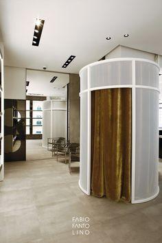 De Wan - Fabio Fantolino Architect; Fitting room design; retail design