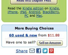 amazonさん、ついにpinボタン付ける!(ebayも)※日本はまだ。  pin→amazon売上up→pinterestさらに強力に→日本でももっと普及を・・・
