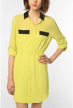 Sparkle & Fade Chiffon Shirtdress  Online Only  $39.99(Was $69.00)