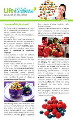 Life&Wellness #5: Le proprietà dei frutti rossi