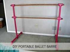 DIY Portable Ballet Barre: Phase 1 | Laughing Abi