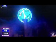 2018 New Years Ball Drop Countdown New York!