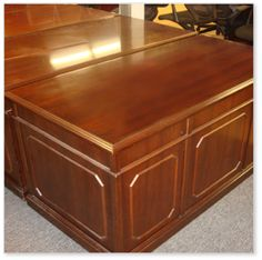 CALL US AT 516-200-6282 FOR YOUR LOWEST PRICE KIMBALL REFURBISHED DESK IN MAHOGANY http://theofficefurniturestore.com/item/kimballrefurbisheddeskinmahogany