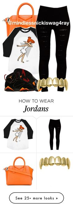 """DABB."" by mindlessnickiswag4ray on Polyvore featuring Givenchy, Boohoo and NIKE"