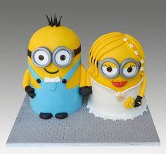 Minion Wedding Cake Decorations