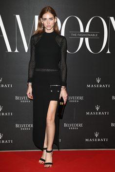 Chiara Ferragni in Versace: The Misia Ball - Lampoon Launch Party - February 28, 2015