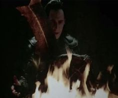 With the eternal flame...you are reborn. Umm. Can anyone explain to me where Loki went after this scene?! Surtr destroyed Asgard! Hulk grabbed Thor and Valkyrie and jumped to the getaway ship. Then, Loki just appears behind Thor when he's putting the eye patch on!! I need to know this!!!