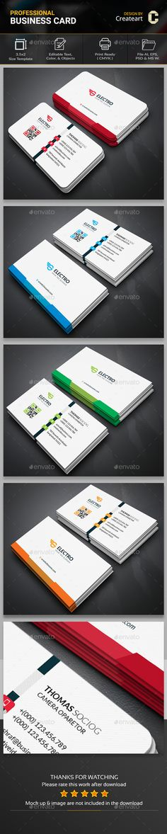 Simply Business Card Template PSD