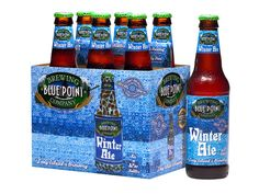 Blue Point Brewing Company's Winter Ale Six Pack - Brand ID & Package Design © 2001