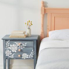 Stencil Printout - Furniture, Headboard, Wall Art or Floor - crafts-vintage-bedroom-0325-d112496.jpg - Martha Stewart