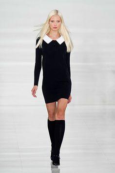 New York Fashion Week Spring 2014 - Best New York 2014 Runway Fashion - Harper's BAZAAR - Ralph Lauren