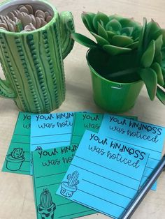 Kindness Counts, class notes, note to the student, pbis, postitive classroom culture