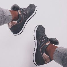 Shoes: new balance new balance grey grey sneakers gold gold new balance sneakers new balances new http://bellanblue.com