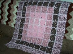 rag quilt ideas | Up next? Another quilt for my friend Jeremy and ...