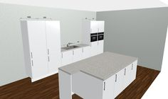 Modernsleekglossy White Kitchenfree 3D Kitchen Planner Unique 3D Design Kitchen Online Free 2018
