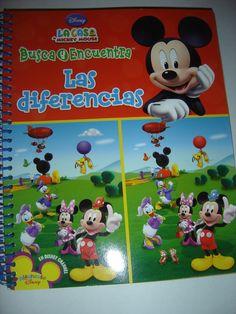LOOK AND FIND Busque y Encuentre LA Casa de Mickey Mouse SPANISH DISNEY BOOK