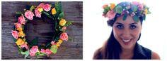 DIY Flower Crown Fun Crafts, Diy And Crafts, Hawaiian Leis, Diy Flower Crown, Harvest Time, Girls Best Friend, Home Gifts, Kid Stuff, Crafting