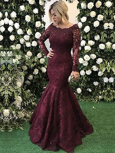 Customized Outstanding Prom Dresses With Sleeves, Evening Dresses Prom Dresses Mermaid, Prom Dresses Long Prom Dresses 2018, Cheap Prom Dresses, Modest Dresses, Bridesmaid Dresses, Dress Prom, Dress Lace, Bride Dresses, Wedding Dress, Formal Dresses With Sleeves