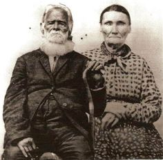 Boer with his wife