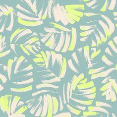 Jungle Leaves Surface Pattern, Pattern Art, Pattern Paper, Abstract Pattern, Surface Design, Pattern Design, Print Design, Textile Patterns, Textile Prints