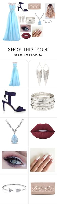 """Prom Prom Prom !"" by norishaa on Polyvore featuring Jules Smith, Whistles, Charlotte Russe, Amour, Lime Crime and Bling Jewelry"