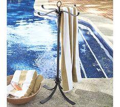 Pool Towel Storage Ideas hotel pool towel storage Bronze Pool Storage Towel Valet