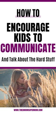 Simple tips for parents to help kids open up and talk about their life outside of the home. Starting conversations with children can be a difficult task, and sometimes as parents, we really want to do Gentle Parenting, Parenting Teens, Parenting Quotes, Parenting Advice, Tired Mom, Positive Discipline, Child Discipline, Child Behaviour, How To Start Conversations