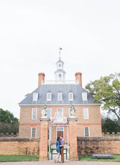 Colonial Williamsburg, Governors Palace engagement photos | Williamsburg, VA couples | Williamsburg wedding + engagement photographer | Virginia wedding photography